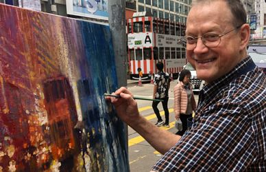 Online Exhibition: Impressions of Hong Kong by David Hinchliffe