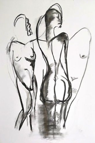 Charcoal-Nudes-#1