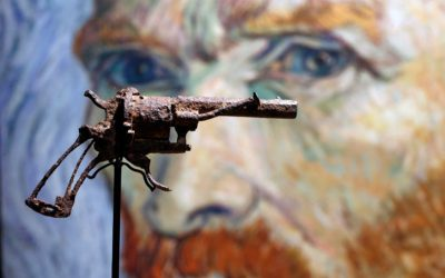 The Gun that Vincent van Gogh is believed to have used to kill himself just sold for $182,000 at Auction