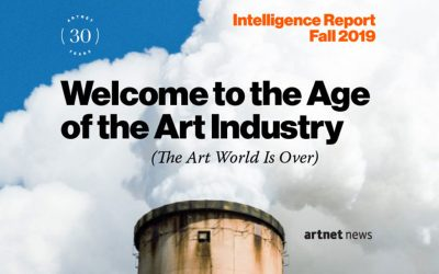 artnet Intelligence Report Fall 2019