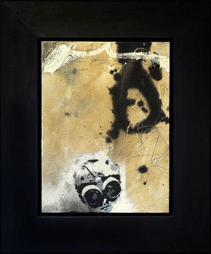 Goggle-Business-Mixed-Media-on-Timber-Panel-62.5cmx52cm