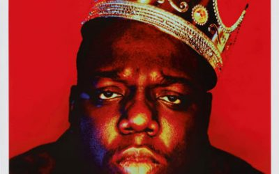 The plastic crown worn by the Notorious B.I.G. for a photo taken days before death sold for $600,000 at Sotheby's first Hip-Hop sale