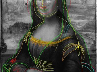A Hidden Drawing Lies Beneath the 'Mona Lisa,' New Ultra-High-Resolution Images Reveal